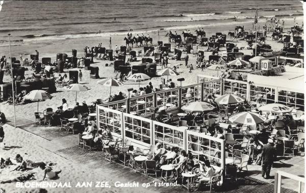 Zeeweg, B'daal aan Zee, 1962