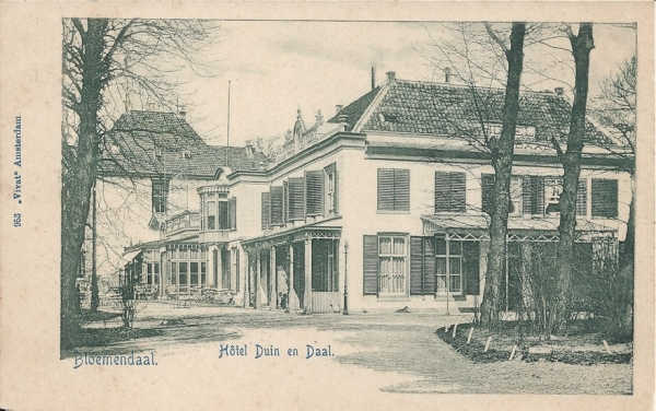 Koninginneduinweg, Hotel Duin en Daal, 1902 (3)