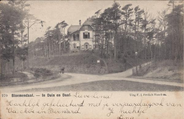Parkweg, Villa Duinhoeve, 1904