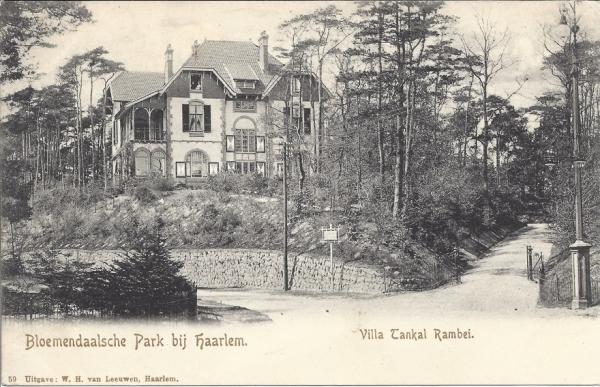 Parkweg, Villa Tangkal Rambei, 1905