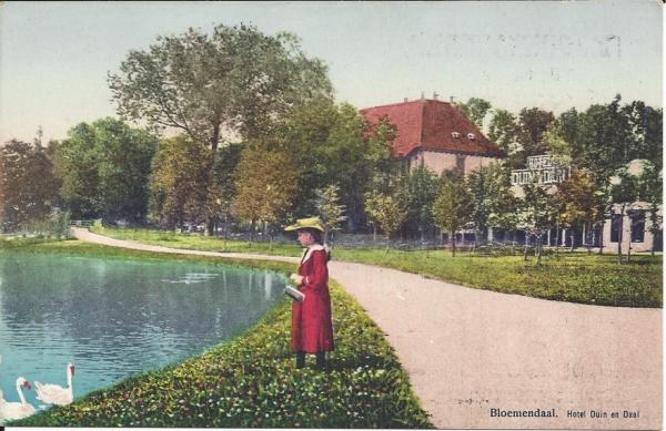 Koninginneduinweg, Hotel Duin en Daal, 1916