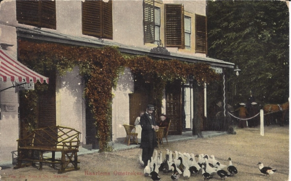 Koninginneduinweg, Hotel Duin en Daal, 1905