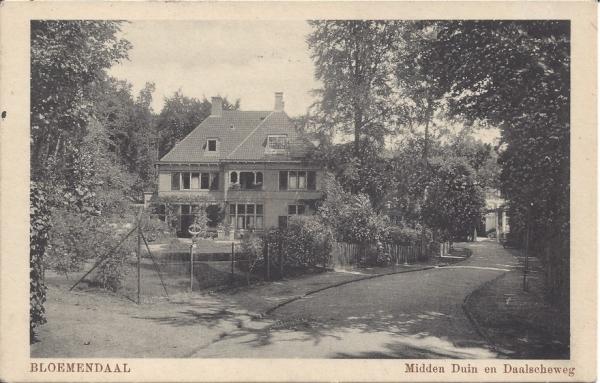 Midden Duin en Daalscheweg, Villa Duinrand, 1963