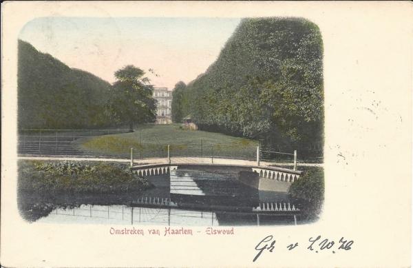Elswoutslaan, Elswout, 1905