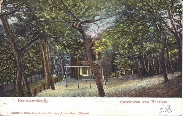 Brouwerskolkweg, Brouwerskolk, 1905