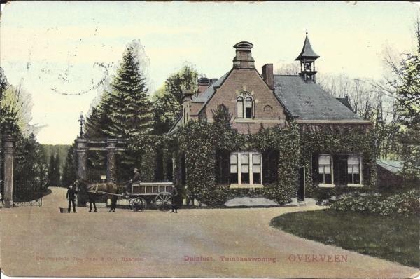 Duinlustweg, Landgoed Duinlust, 1907