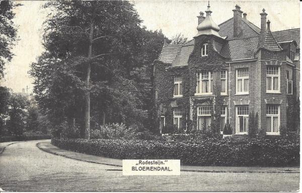 Mollaan, Villa Rodesteijn, 1912