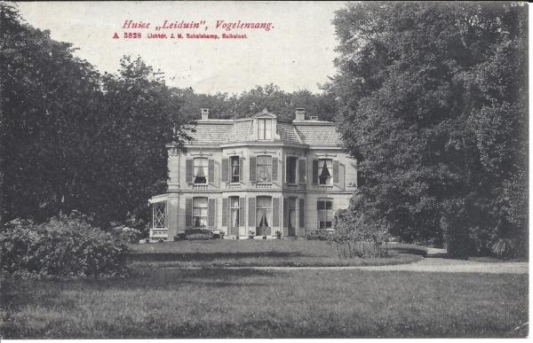 2e Leijweg, Huize Leyduin, 1909