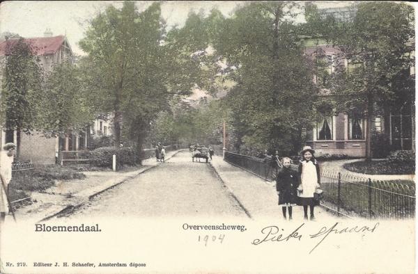 Zijlweg, 1904