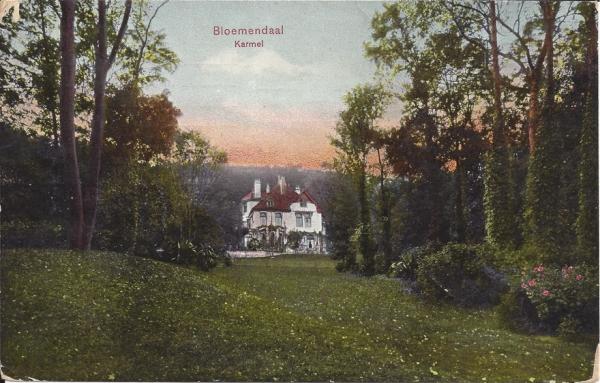Midden Duin en Daalscheweg, Huize Karmel, 1908
