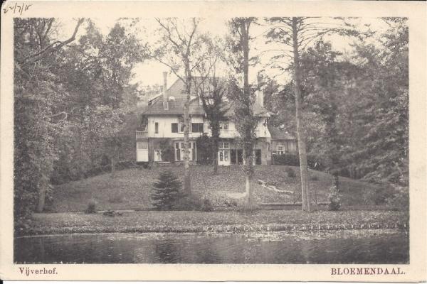 Midden Duin en Daalscheweg, Villa Vijverhof