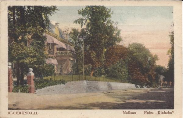 Mollaan, Villa Kinheim 1921