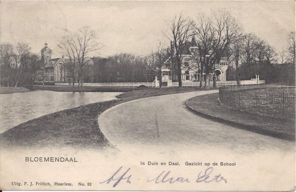 Lage Duin en Daalscheweg, Villa Elshof en BSV, 1903