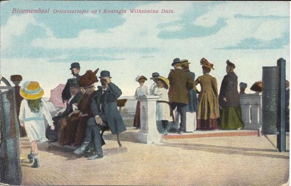 Hooge Duin en Daalscheweg, 't Kopje, Oriënteertafel (2)