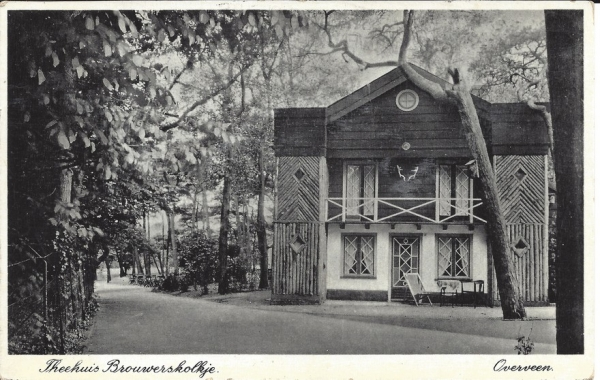 Brouwerskolkweg, Theehuis, 1939