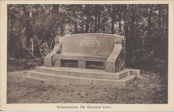 Lage Duin en Daalscheweg, de Genestetbank (2)