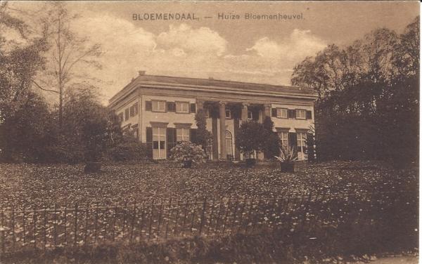 Bloemendaalscheweg, Bloemenheuvel
