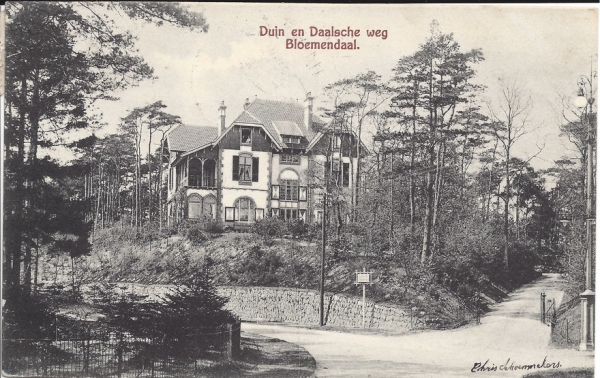 Parkweg, Villa Duinhoeve, 1907