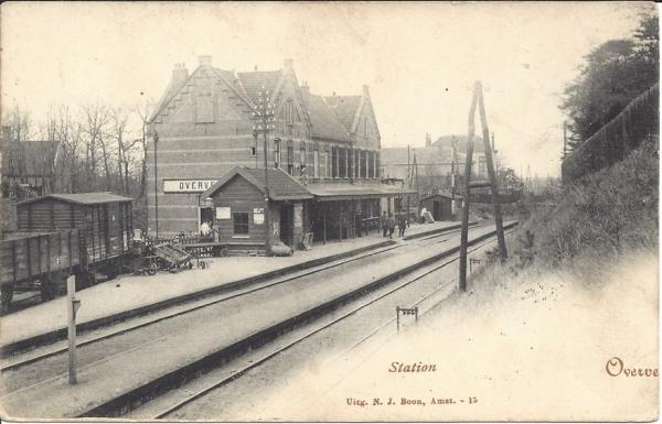 Tetterodeweg, Station, 1911 (2)