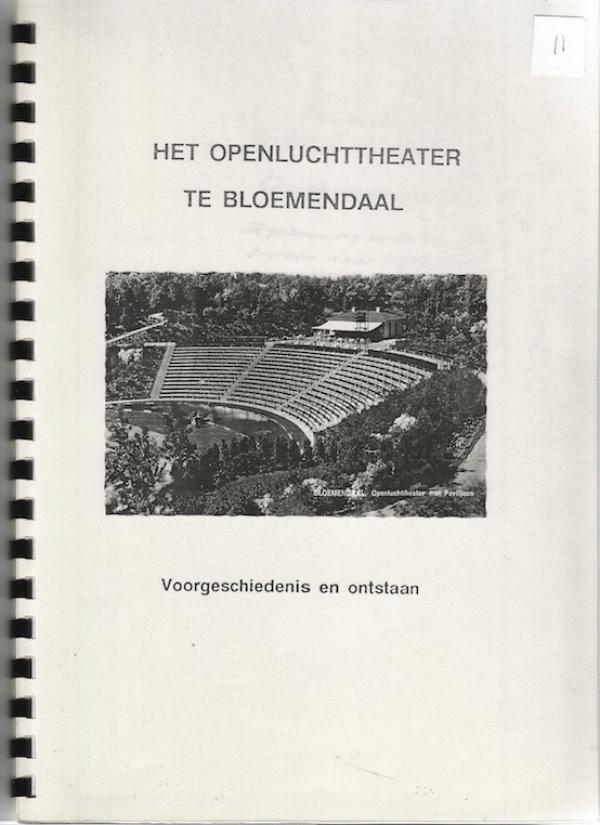 Het Openluchttheater te Bloemendaal
