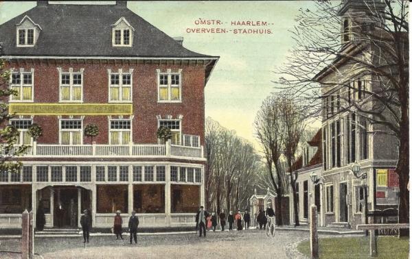Bloemendaalscheweg, hoek Zijlweg, 1908