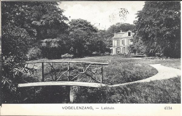 2e Leijweg, Huize Leyduin, 1908
