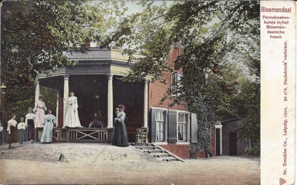Mollaan, Pannekoekenhuisje, 1904