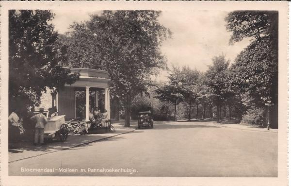 Mollaan, Pannekoekenhuisje, 1937