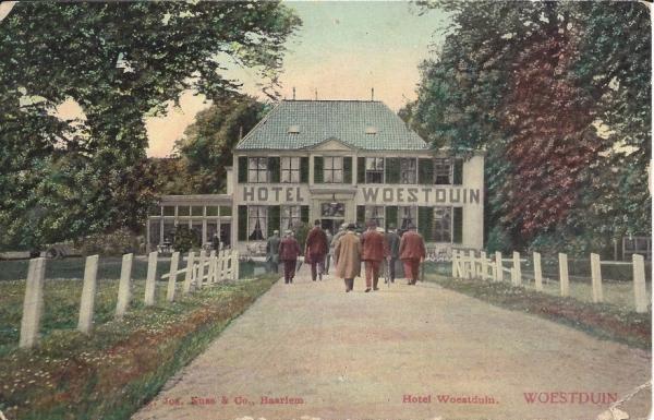Woestduin, Hotel Woestduin, 1907