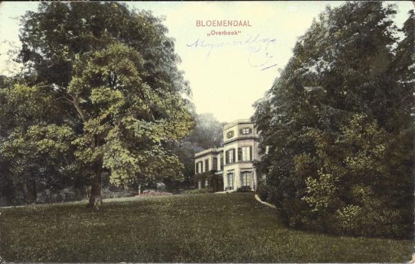 Bloemendaalscheweg, Overbeek, 1912