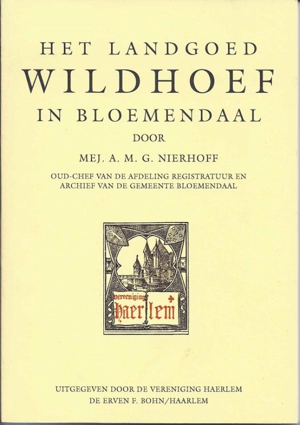 Het landgoed Wildhoef in Bloemendaal
