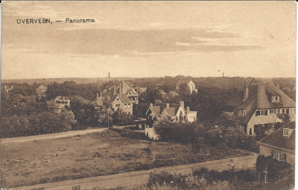 Lonbar Petrilaan, Villa Sandenhoef, overzicht Kweekduin