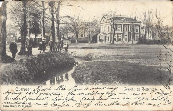 Zijlweg, Villa Tetterode, 1905