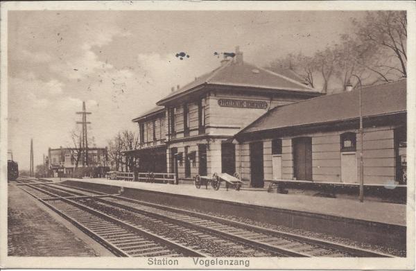 Leidschevaart, Station Vogelenzang, 1932