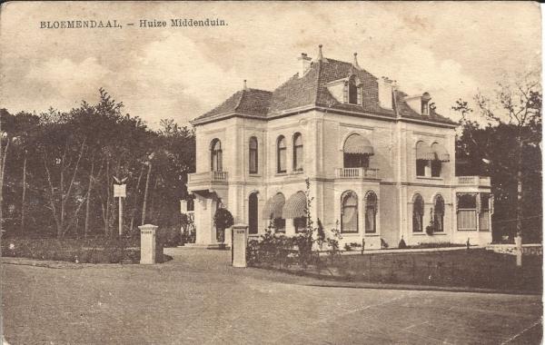 Midden Duin en Daalscheweg, Huize Middenduin