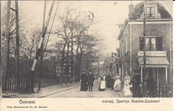 Bloemendaalscheweg, hoek Tetterodeweg, 1901