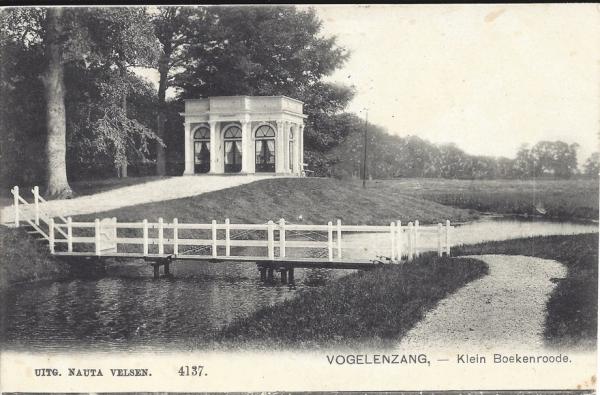 Boekenroodeweg. Klein Boekenrode 1909