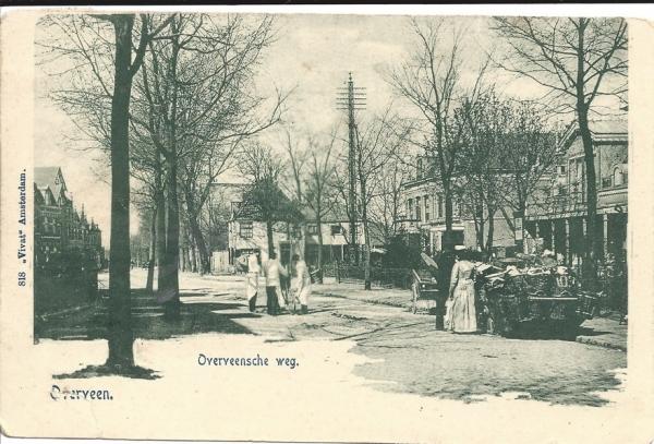 Bloemendaalscheweg. 1904