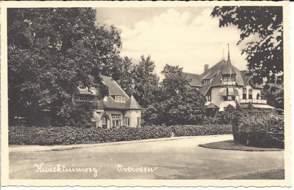 Kweekduinweg, hoek Militairenweg, Villa Duinhof, (1)