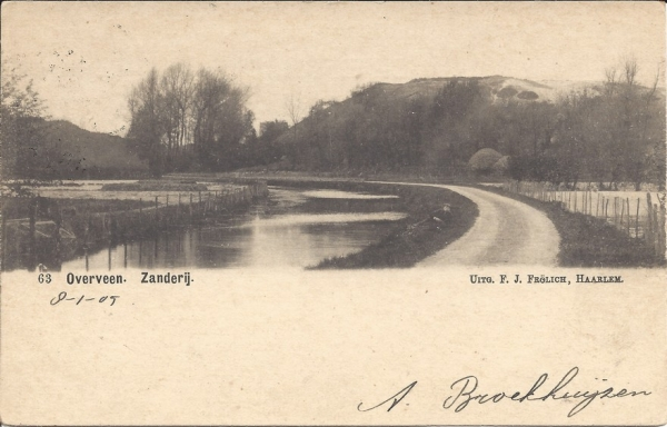 Duinlust, Zanderij, 1905