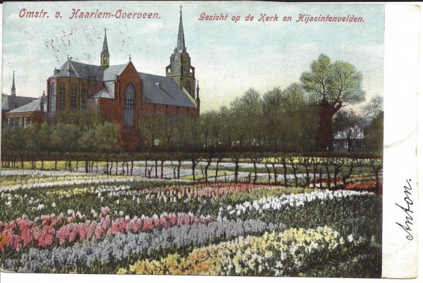 Korte Zijlweg, O.L.V. Kerk, 1905