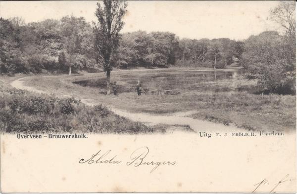 Brouwerskolkweg, Brouwerskolk, 1901