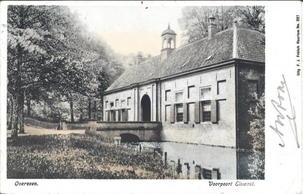 Elswoutslaan, Entrée Landgoed, 1902