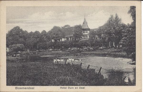 Lage Duin en Daalscheweg, Hotel Duin en Daal (6)