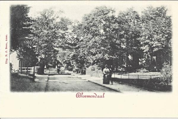 Bloemendaalscheweg, Kweekduin, 1900