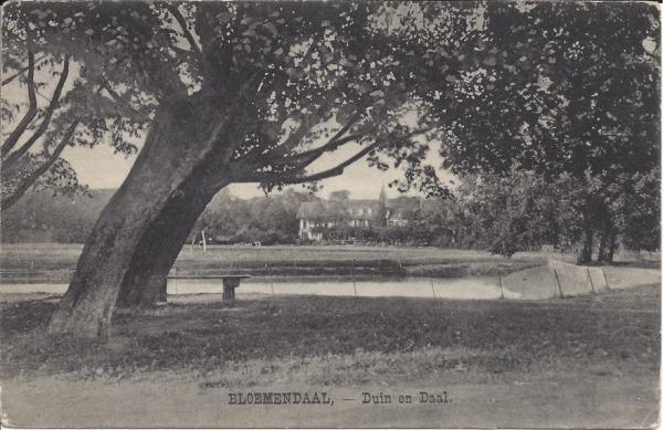 Lage Duin en Daalscheweg, Hotel Duin en daal, 1927