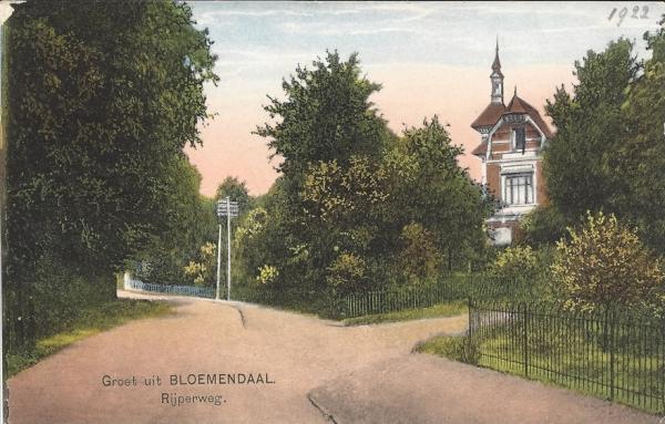 Rijperweg, Villa de Berg, 1922