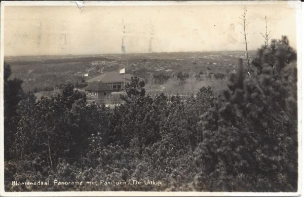 Hooge Duin en Daalscheweg, Paviljoen De Uitkijk, 1940
