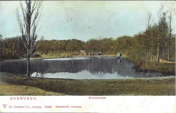 Brouwerskolkweg, Brouwerskolk, 1900