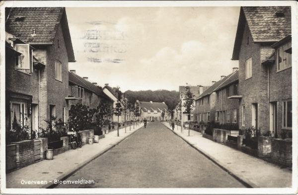 Bloemveldlaan, 1939